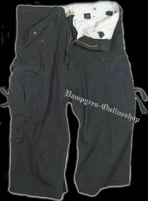 MMB M65 3/4 Vintage Hose (Korea Style) Schwarz