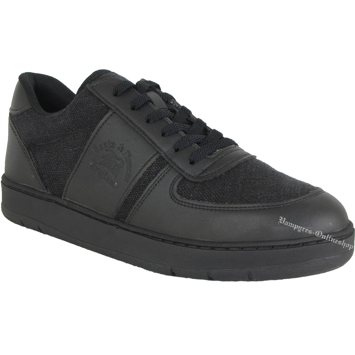 Boots & Braces Sneaker Vegetarian Schwarz Schuhe Vegan Freizeitschuh