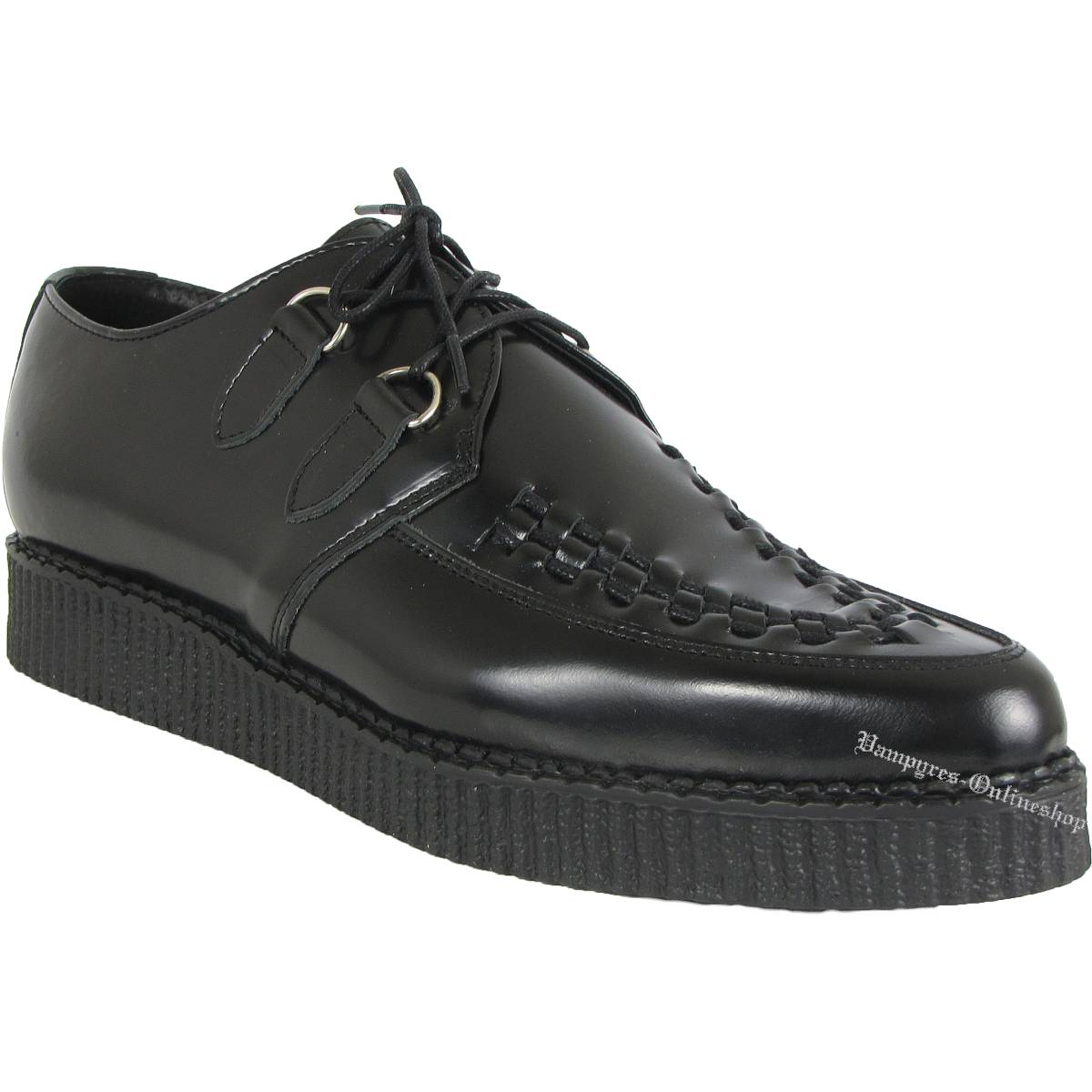 Boots & Braces Creeper Classic Schwarz Schuhe Creepers