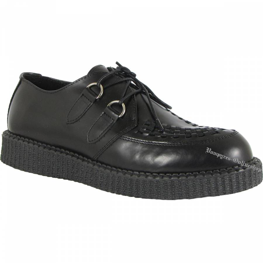 Boots & Braces Creeper New Schwarz Schuhe Creepers