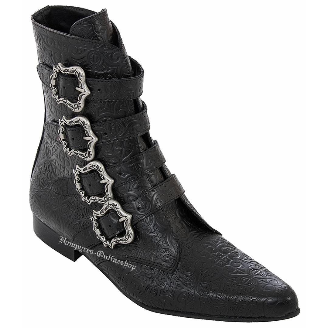 Boots & Braces Winkelpiker Empire Schwarz Pikes