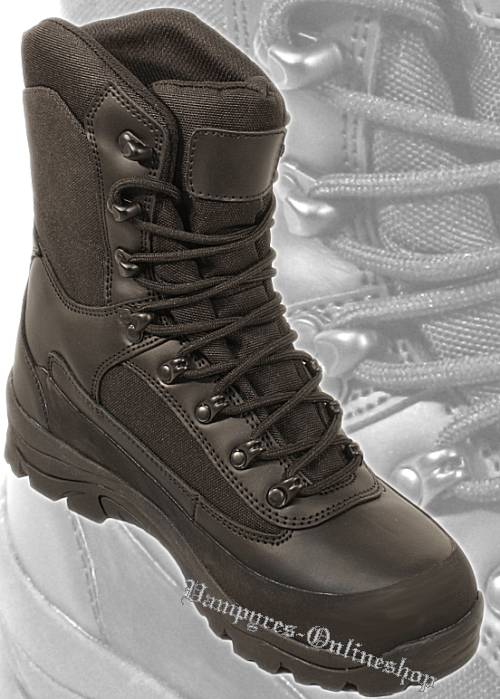 By MMB Combat Boot Schwarz Security Stiefel Boots