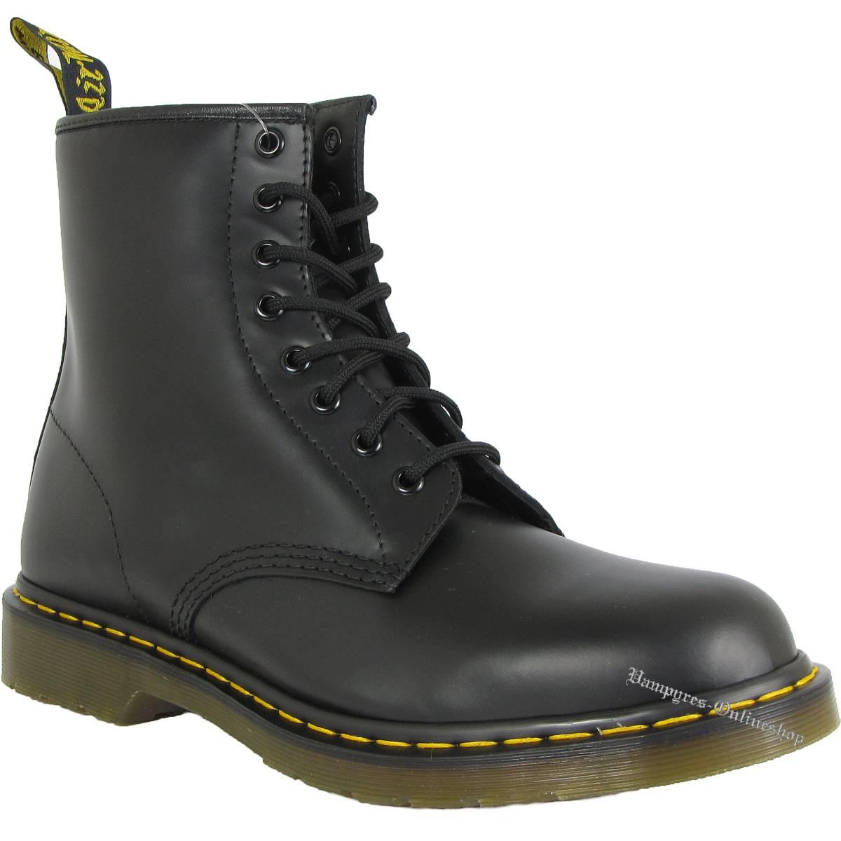 Dr. Martens 8-Loch 1460 Smooth 11822006 Schwarz Docs Boots