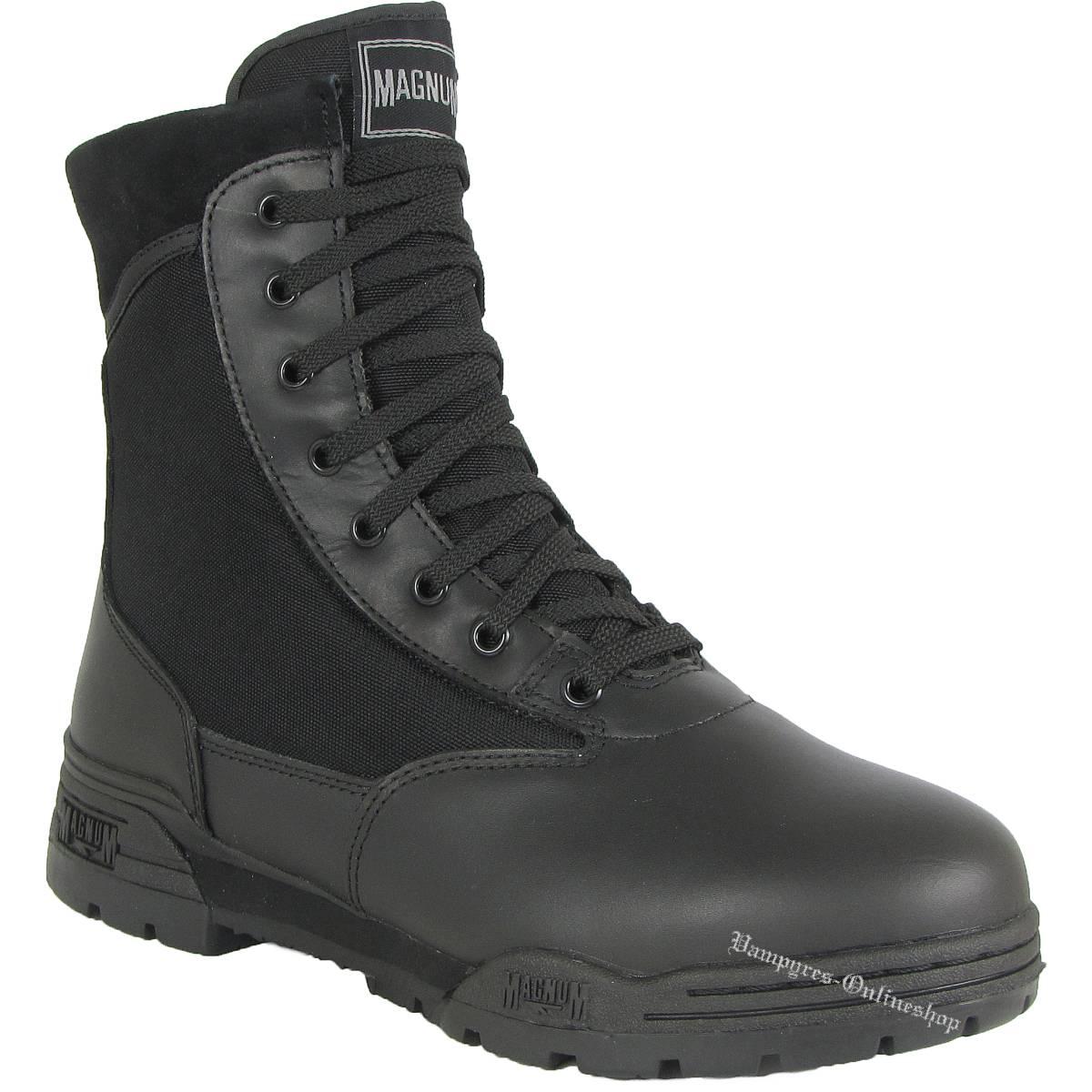 Magnum (Hi-Tec) Regular Classic Schwarz Schuhe Boots Stiefel