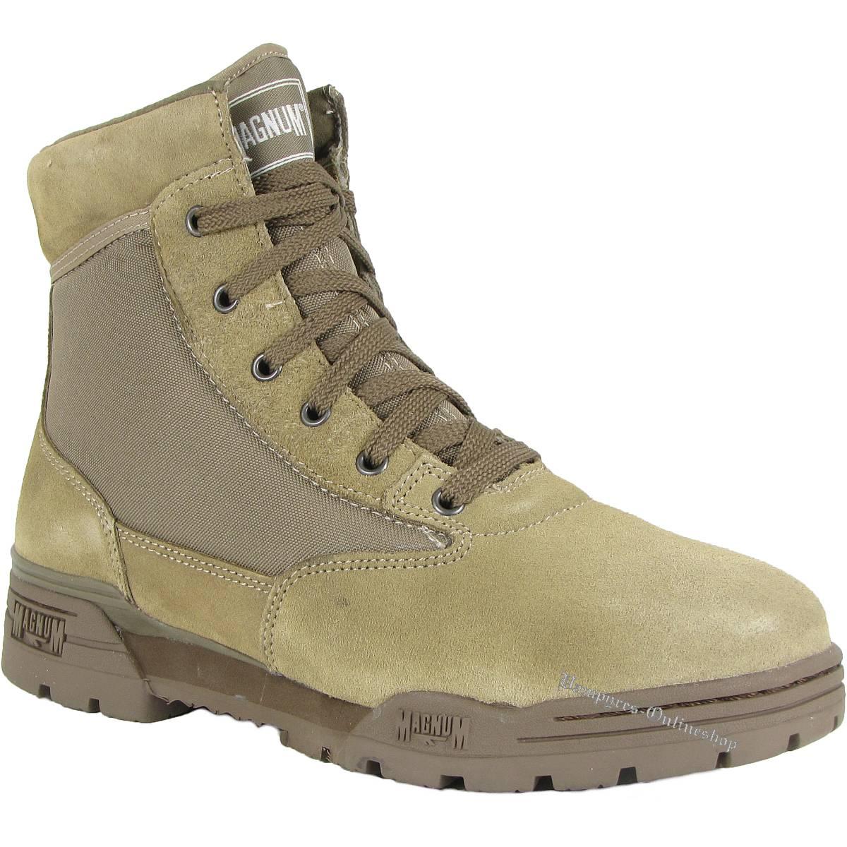Magnum (Hi-Tec) Mid Mud Braun Schuhe Wildleder Stiefel