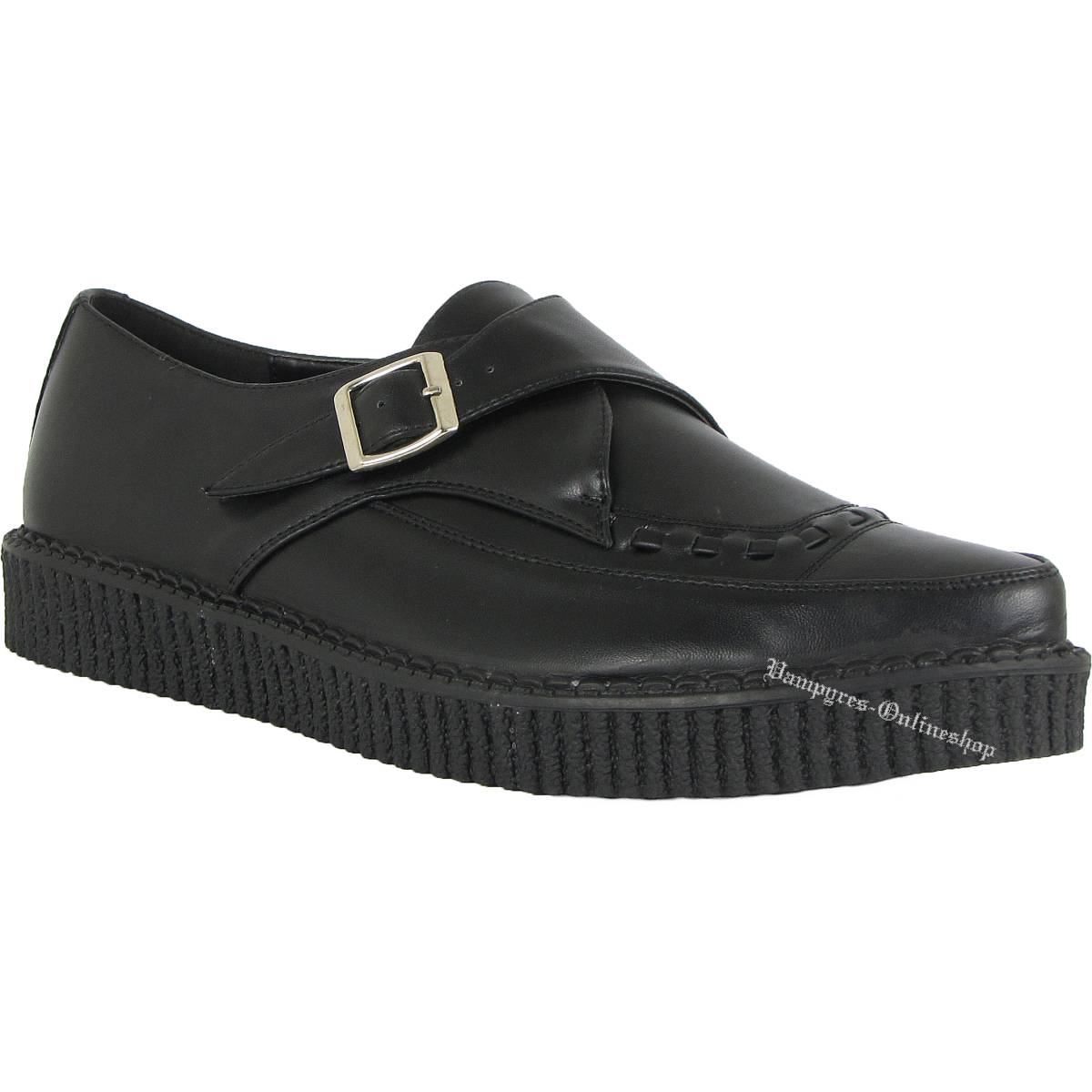 Industrial Punk Creeper Schnalle Schwarz Creepers