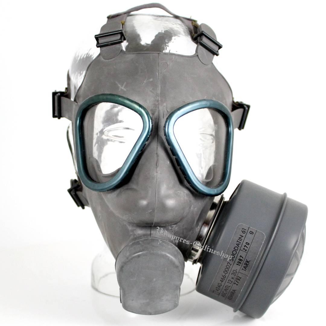 Finnische Schutzmaske DEKO Grau mit Filter