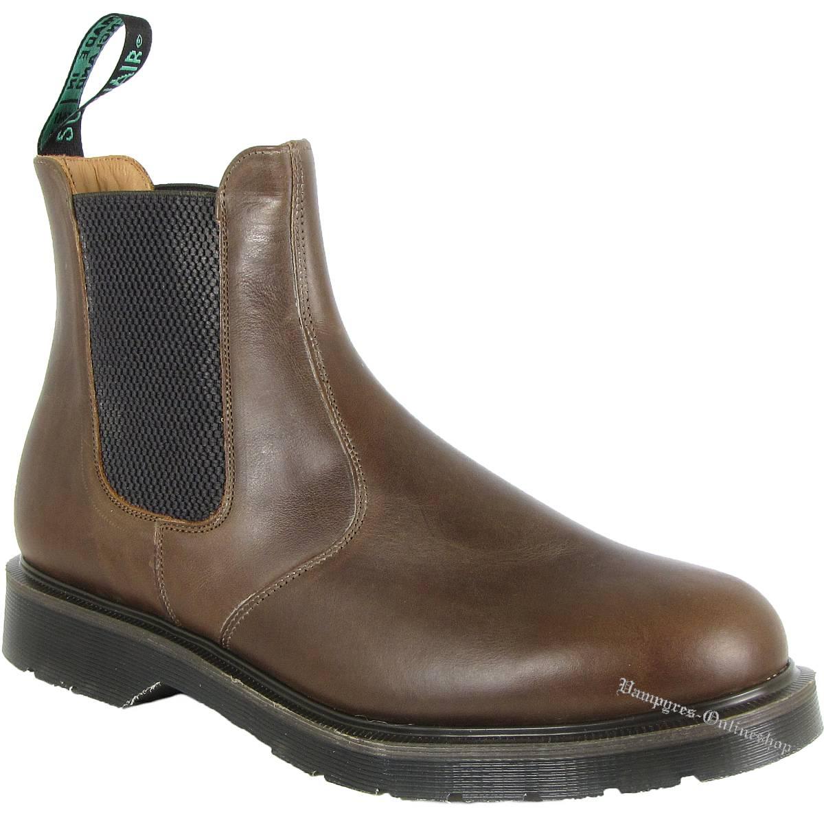 Solovair Dealer Chelsea Boot Gaucho 0.902-CH-01 Braun Schuhe