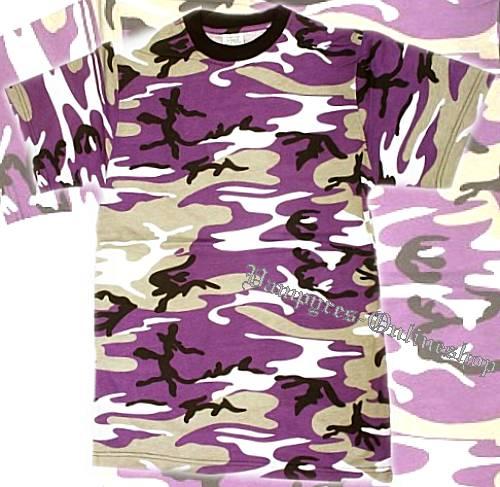 Tarn T-Shirt Lila-Camo